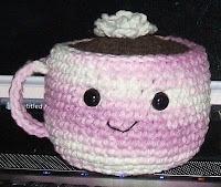 hot chocolate amigurumi pattern: Crochet Projects, Free Crochet, Left Side, Amigurumi Food, Crochet Free Patterns, Hot Chocolates, Crochet Patterns, Chocolates Amigurumi, Amigurumi Patterns