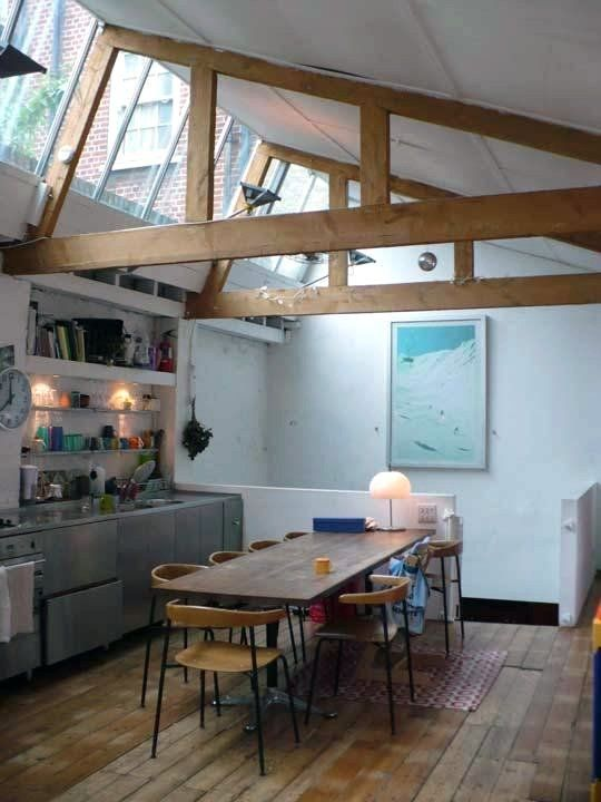 Exposed Beams - Architectural Elements: Amazing Exposed Timber Beams & Trusses At Home