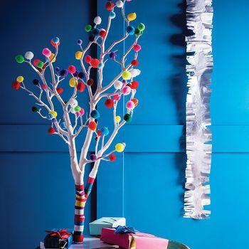Pom Pom Weihnachtsbaum