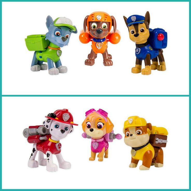 Paw Patrol Toys - Action Figures - Authentic Aussie Seller - Sealed NEW Boxes