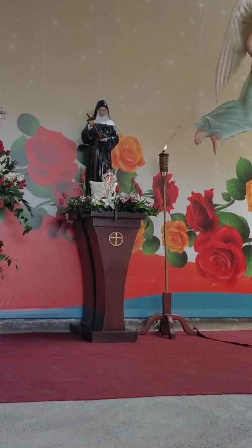 Accesa la Fiaccola della Pace in onore di Santa Rita