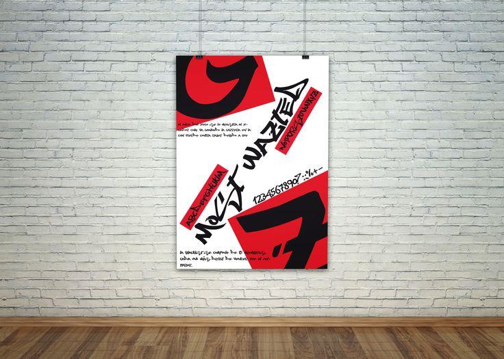 Cartel tipografico.