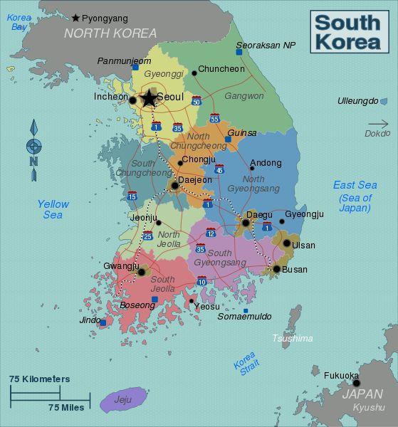 169 best South Korea images on Pinterest Seoul, Seoul korea and - best of world map at night korean