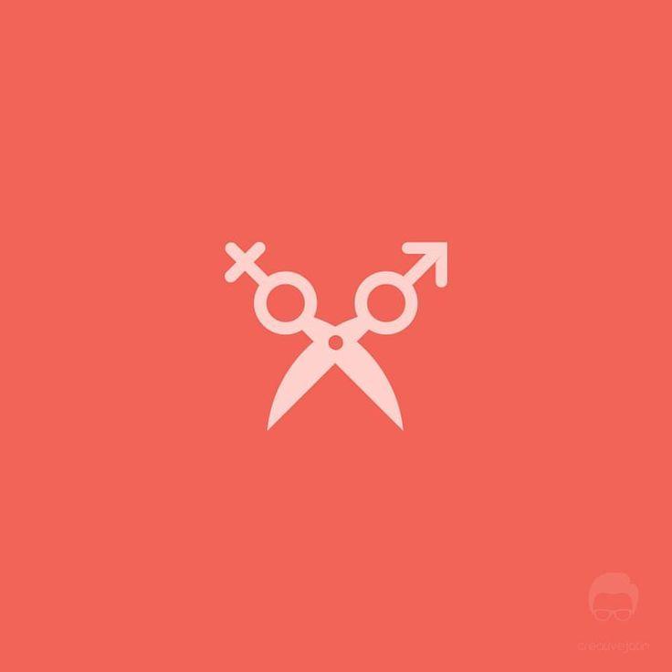 "38 Likes, 4 Comments - Jatin Sharma (@creativejatin96) on Instagram: ""Unisex Salon Logo Design #dailylogochallenge Day 13 #salonlogo #unisexsalonlogo #barbershoplogo…"""