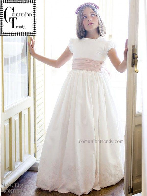 vestidos de primera comunion para ninas morenas