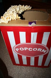 Pass the Chopsticks - U.S. Navy Family in Japan: Popcorn Costume How-To