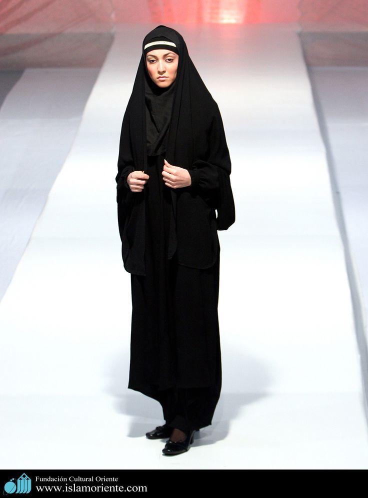 Mujer musulmana y desfile de moda - 3 | Galería de Arte Islámico y Fotografía