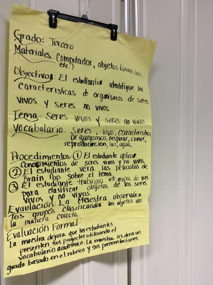 8 best Pass the BTLPT Spanish 190 images on Pinterest Bilingual - lesson plan example