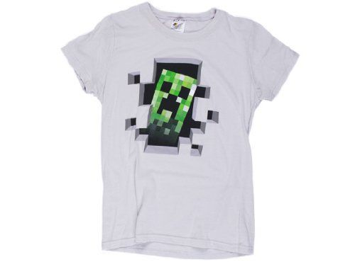 18 best ladies minecraft t shirts images on pinterest t shirts minecraft creeper inside grey womens t shirt large jinx http urtaz Image collections