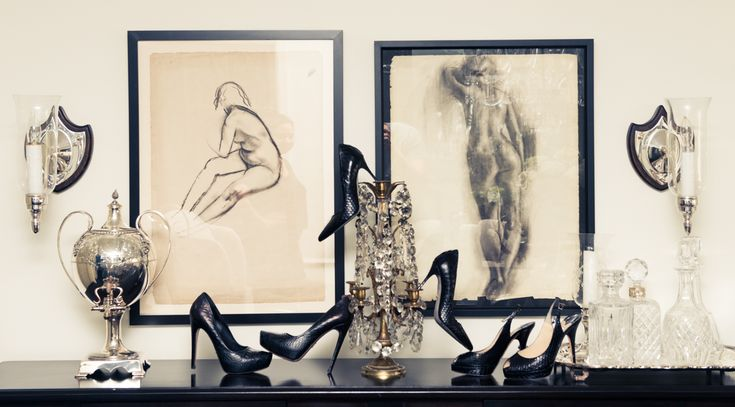 Kick up your heels. www.thecoveteur.com/stacey-todd: Style Shoes, Fashion Decor, Black Skin, Glam, Gipsea Coveteur, Charming Vignettes, Absolutely Fabulous, Drawing