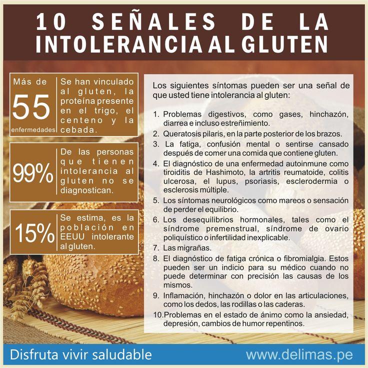 sintomas de intolerancia al gluten - Buscar con Google