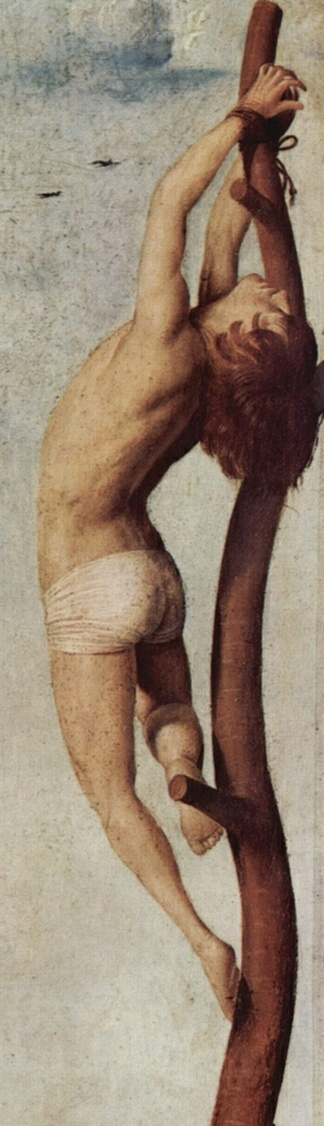 Antonello da Messina: Crucifixion (detail), 1455.