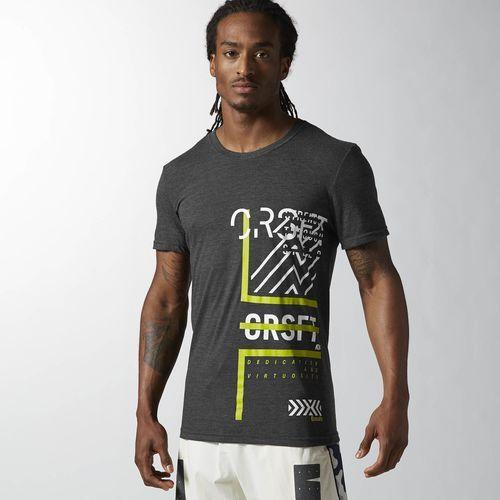 Reebok CrossFit Graphic Tee - Black | Reebok US