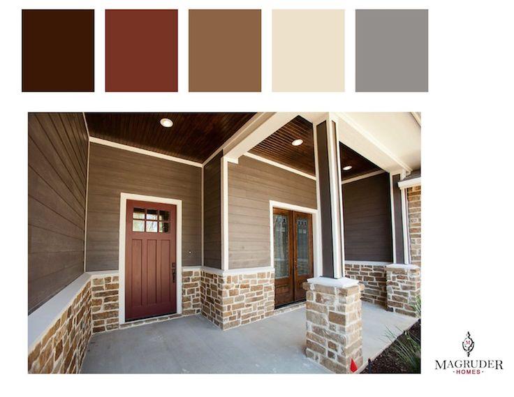 Exterior Paint Colors Brown