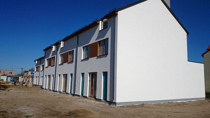 Budowa mieszkań w Rumi - Osada Kazimierza - Kwiecień 2016