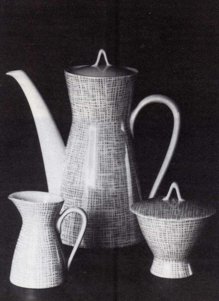"""Form 2000"" , Raymond Loewy, Rosenthal  (Erdinç Bakla archive)"