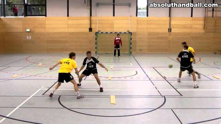 Cour de handball situation analyse comment tirer passer faire un contre ...