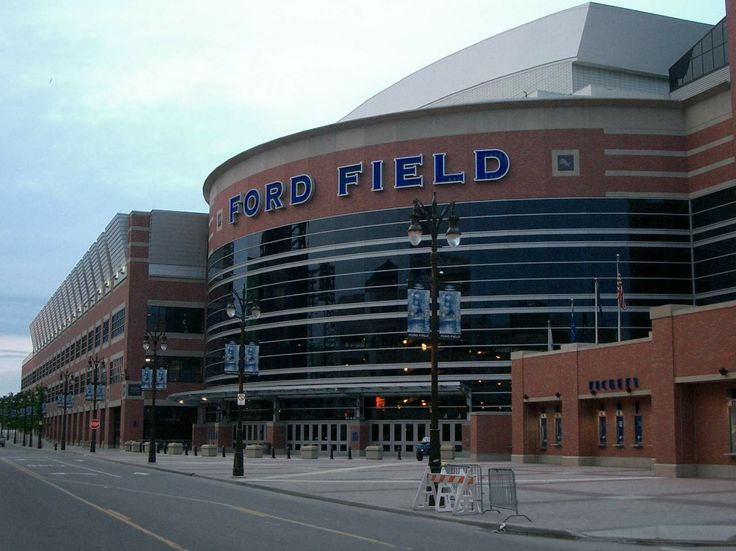 Ford Field Building | Ford Field, Detroit, MI