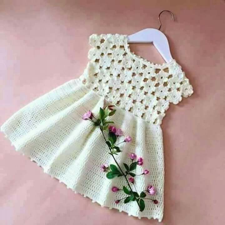 Häkelkleid | Knitting Lace und Handicraft Site   – bebek