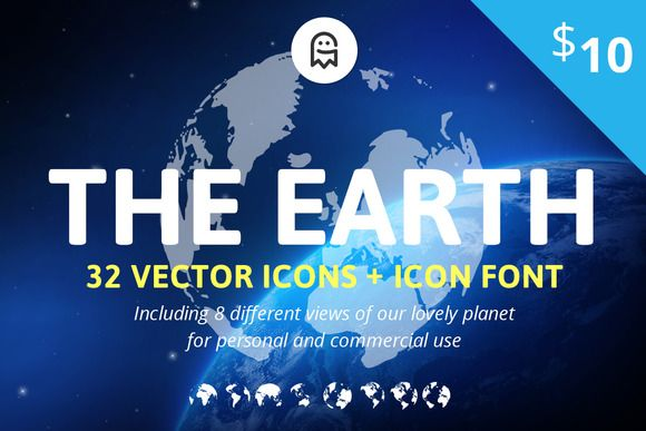 Dear our lovely followers, the Graphic Ghost just added the first product to the Creative Market​ shop - The Earth Icons! Check it out and give it a +heart if you like it. Have a nice remaining day. #graphicghost #creativemarket #designresources #icons  https://creativemarket.com/graphicghost/892754-The-Earth-Icons?u=graphicghost