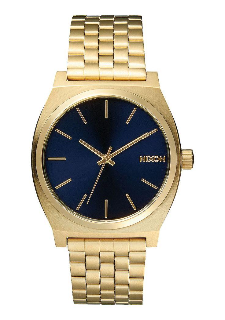 Time Teller, All Light Gold / Cobalt, $100