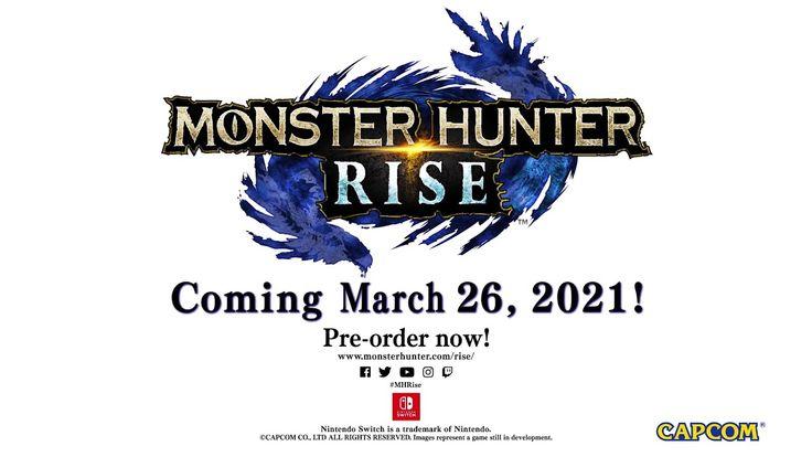 Monster Hunter Rise Long Sword Trailer W Gameplay Nintendo Switch Monster Hunter Nintendo Switch Game Trailers