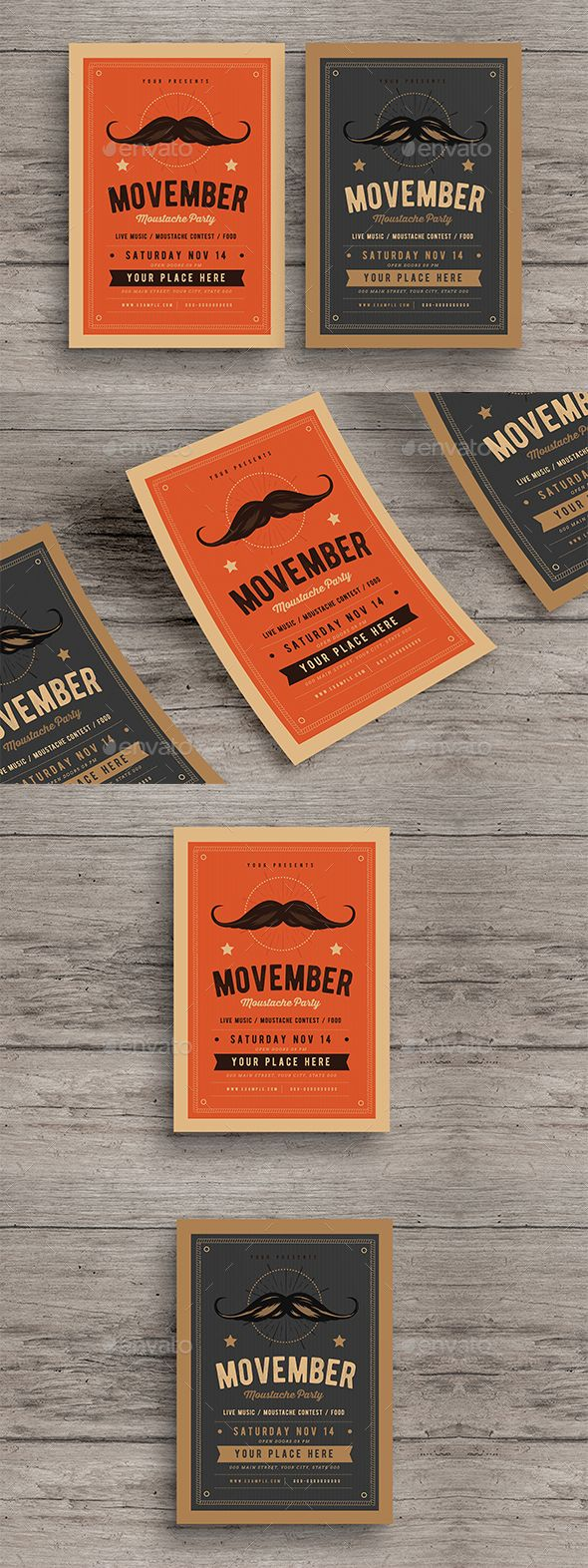 72 best Flat Flyer Design images on Pinterest | Flyer design, Flyer ...