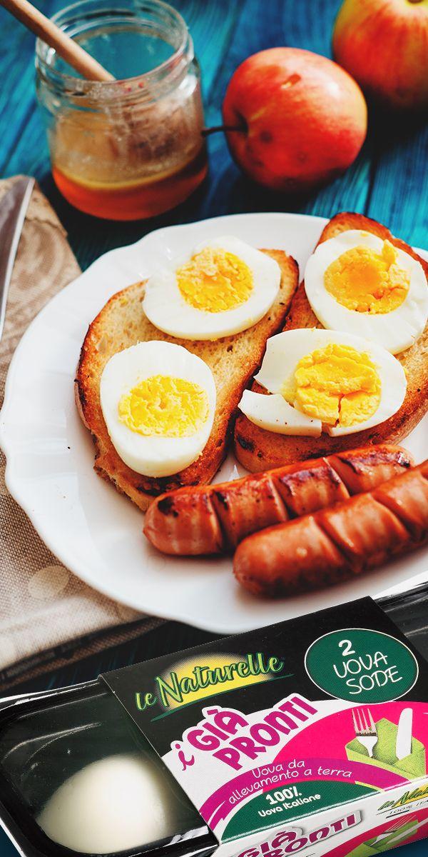 Poco tempo per #cucinare? Da oggi hai un alleato in più con #leNaturelle  #iGiàPronti: due #uova sode pronte da gustare!