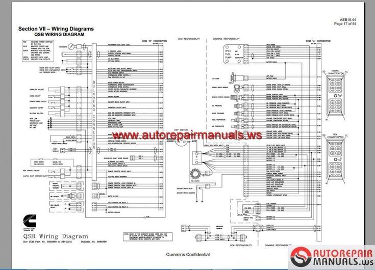 Ism Fuse Diagram  U2013 Daily Update Wiring Diagram Cummins Isx Ecm In 2020