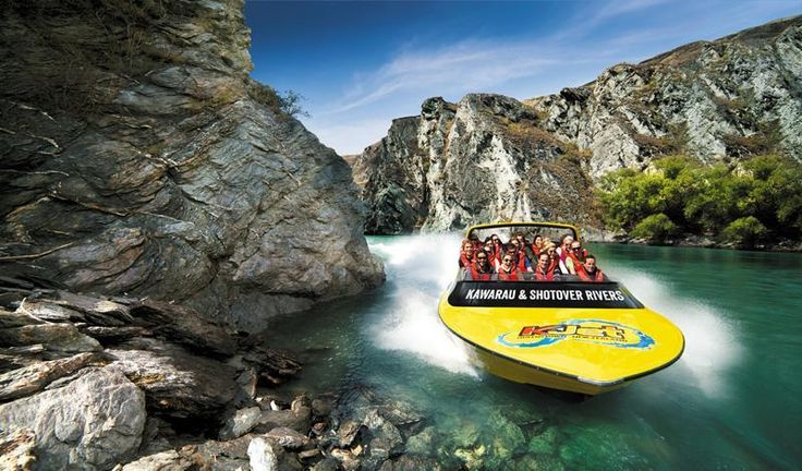 Queenstown - Thrilling jet boating KJet