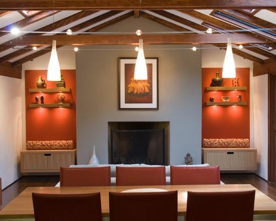 12 besten Office Bilder auf Pinterest für zu Hause, Painting und - Wohnzimmer Grau Orange