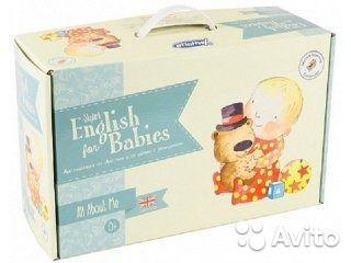"""Английский из Англии для детей с рождения """"Skylark English for Babies"""" УмницаПолный комплект. Ни разу не пользовались. Поэтому как новый."""