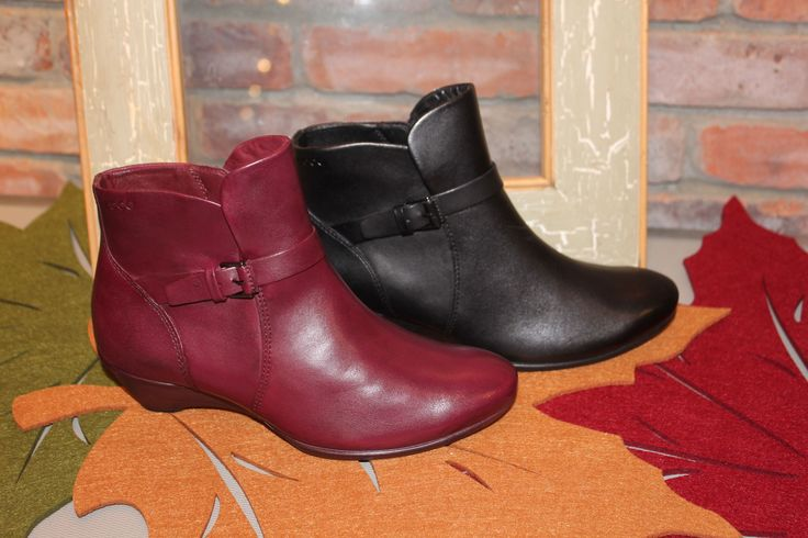 Ecco! The most comfortable ankle boot.