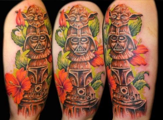starwarstotempoletattoo Totem tattoo, Tattoos, Totem