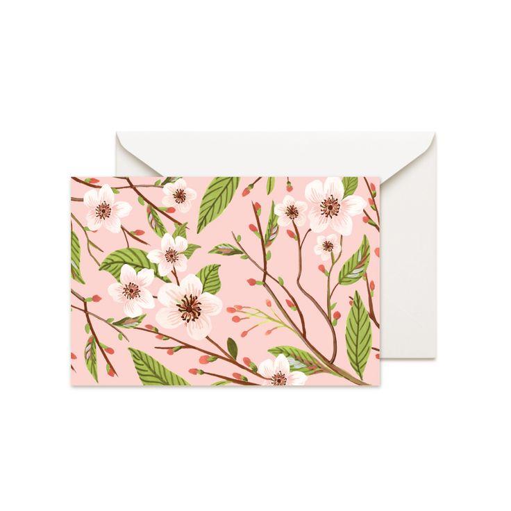 Spring #thepaperhome #art #illustration #artwork #botanics #botanical #drawing #spring #easter #card #greetingcard #postalcard