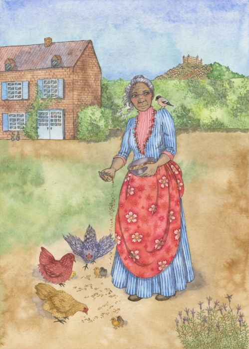 """Cinderella - Feminist Fairytales project. An illustrated book of five traditional fairytales, retold with a feminist twist. """"Once upon a time an old woman named Ella lived in a large house on the edge of a fine city. Ella was bold, clever and kind to everyone she met…"""""""