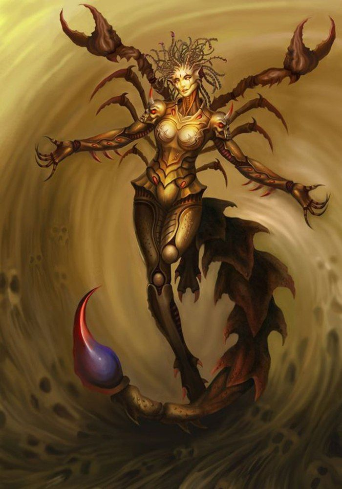 Fantasy Art Female Monster