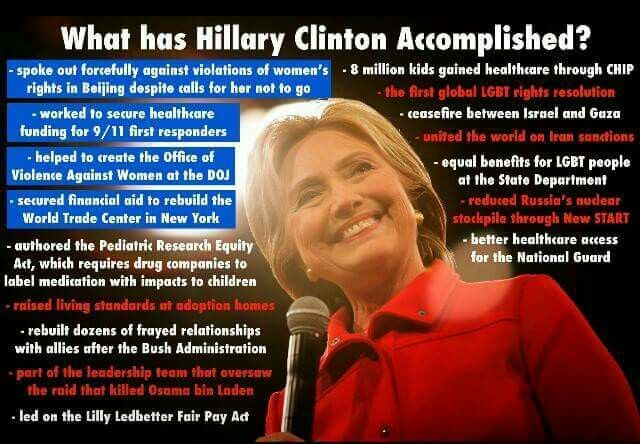 Repugnant-cans / She's going to be a wonderful Madame President!!