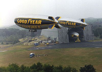 Goodyear Blimp Hangar, Akron, Ohio  #Ridecolorfully