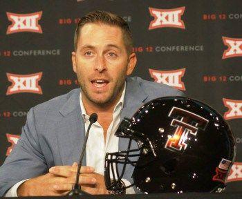 Big 12 Media Days Q&A: Texas Tech's Kliff Kingsbury | Postins' Postcards: A Life On the Sports Road