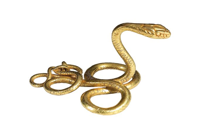 Snake ornament  Gold,  Late Hellenistic period,  1st century A.D. 1st century B.C