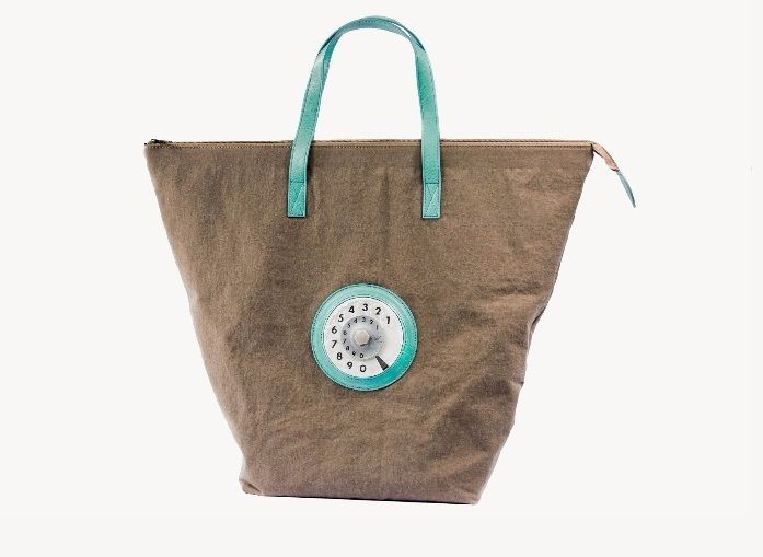 "Borsa La Tilde ""Easy bag""  ruggine"