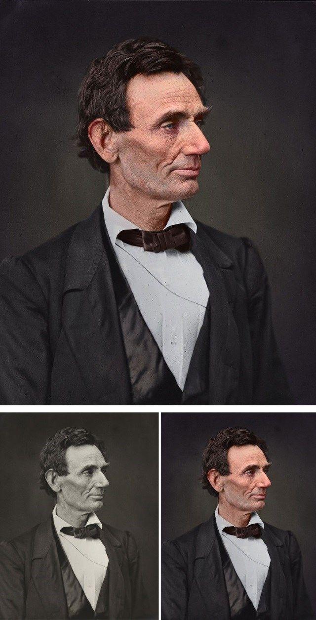 8.Abraham Lincoln, o 16º presidente dos Estados Unidos