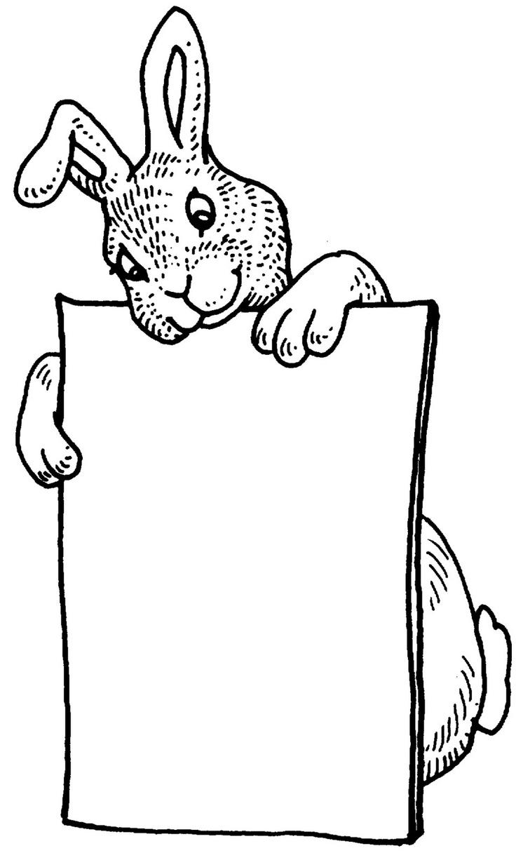 Rabbit Clip Art Clip Art Scrapbooking Pinterest