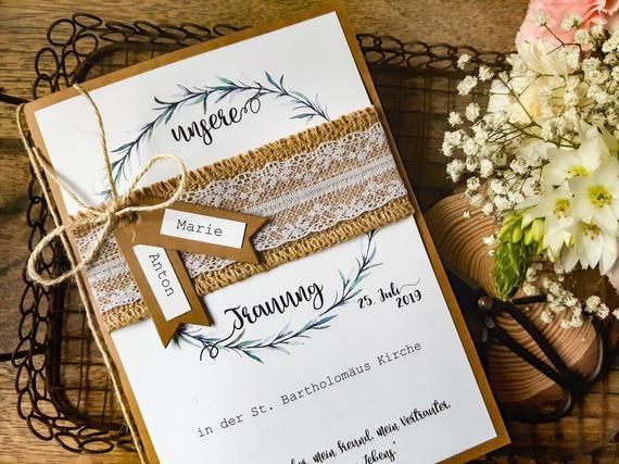 KIRCHENHALTER HOCHZEIT BOHO-Vintage | Kirchenbroschüren | Stärke Papier | Programmheft Kirche | Tagesablauf | Tipp | Jute | Rosmarin | Rory_2   – Hochzeitsbilder