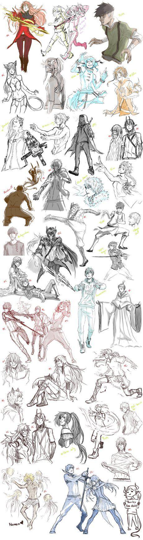 Coleção De desenhos