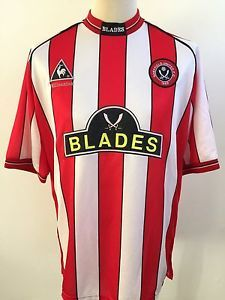 SHEFFIELD UNITED Football Shirt HOME 1999/2000 Le Coq Sportif Size LARGE L | eBay