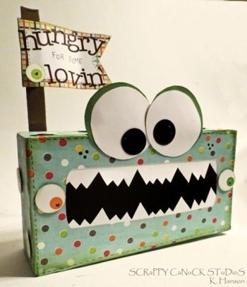 30 ways to recycle tissue boxes into fun and reusable items.  Happy crafting!