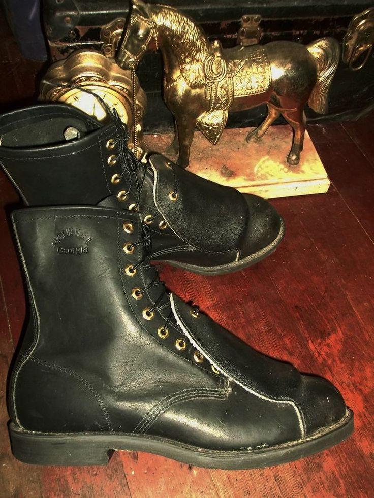 GEORGIA Metguard Boots GEORGIA  23122 Metarsal Welding Boots SAFETY BOOTS 13 #GeorgiaBoot #WorkSafety