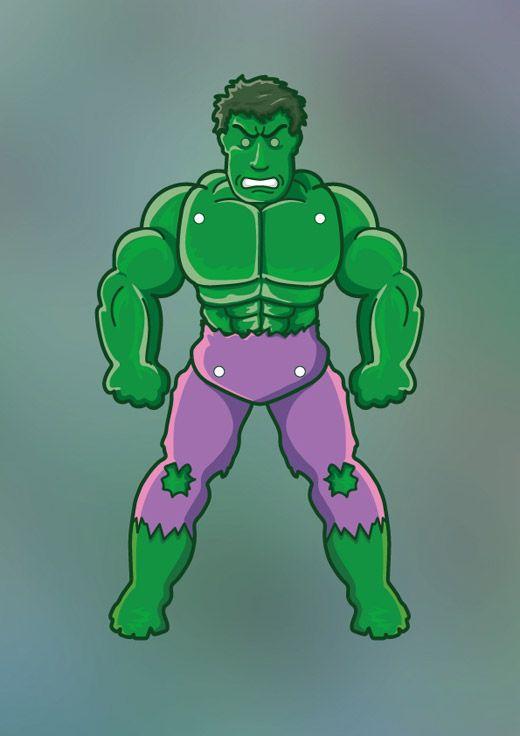 The Hulk | Printables | Pinterest | Jumping jacks, The o ...